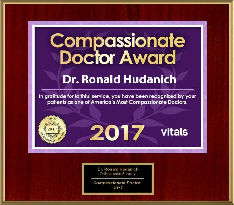 image of 2017 vitals compassionate doctor award