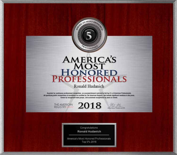 image of 2018 americas most honored professionals