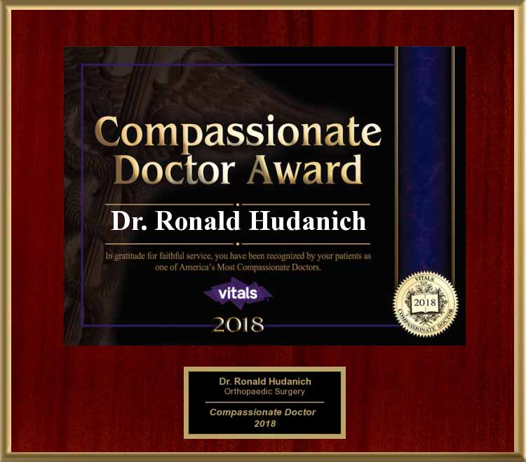image of 2018 vitals compassionate doctor award
